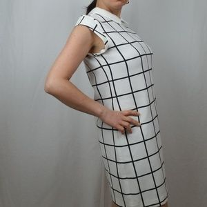 ZARA Dresses - ZARA TRAFALUC PLAID SHIFT DRESS SIZE MEDIUM